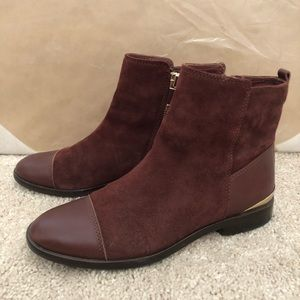 Vince Camuto Signature Kaydin Suede/Leather Boots